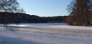 Testlauf auf dem Eis